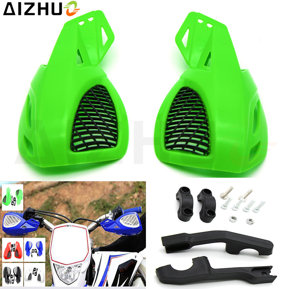 22mm 78 Motorcycle Handguand Hand Guard Plastic Motor Protection For Kawasaki Z250 Z750 Z800 Z900 Z1000 ER-6N ER-6F Ninja 300