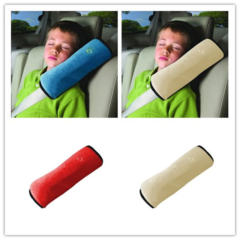Baby Auto Pillow Car Safety Belt Protect Shoulder Pad Adjust Vehicle Seat Belt Cushion For Kids Children Eat Belts Pillow Safety