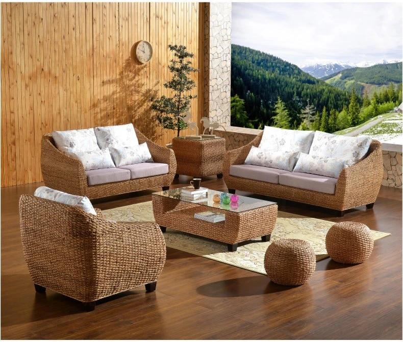 us 1950 0 top grade garden furniture patio furniture outdoor rattan sofa coffee table wicker cushioned rattan furnitures garden furniture sets