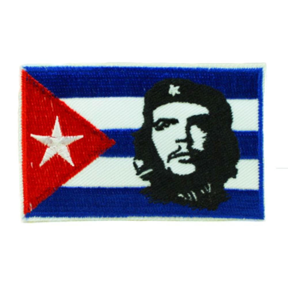 Нашивки с национальным флагом для одежды, нашивки с национальной эмблемой, нашивки с вышивкой, наклейки для одежды, нашивки с изображением страны, железные нашивки - Цвет: Cuba