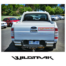 1 pc wildtrak graphic Vinyl sticker for door or rear tailgate decal Ford Ranger 2010