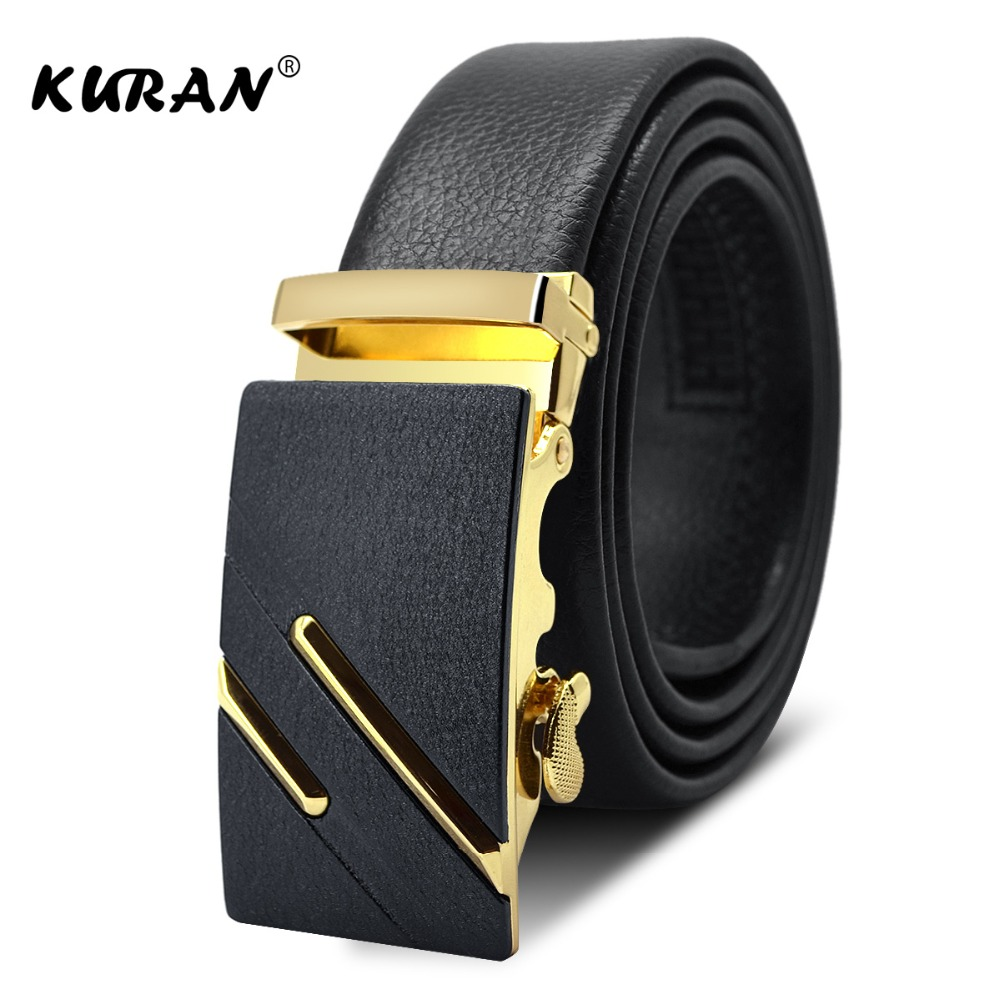 Famous Brand Black   Belt   Men Hight Quality Genuine Luxury Leather   Belts   for Men,Strap Male Metal Automatic Buckle
