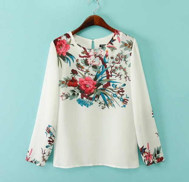 Online Get Cheap Floral Blouse -Aliexpress.com | Alibaba Group