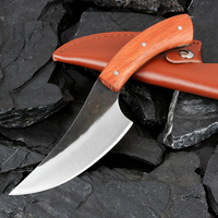 XITUO Fixed Blade Knife Outdoor Hunting Survival Camping Knife  Utility Cleaver Butcher Slaughter Knife Sharp Straight Knife Kitchen Knives    -