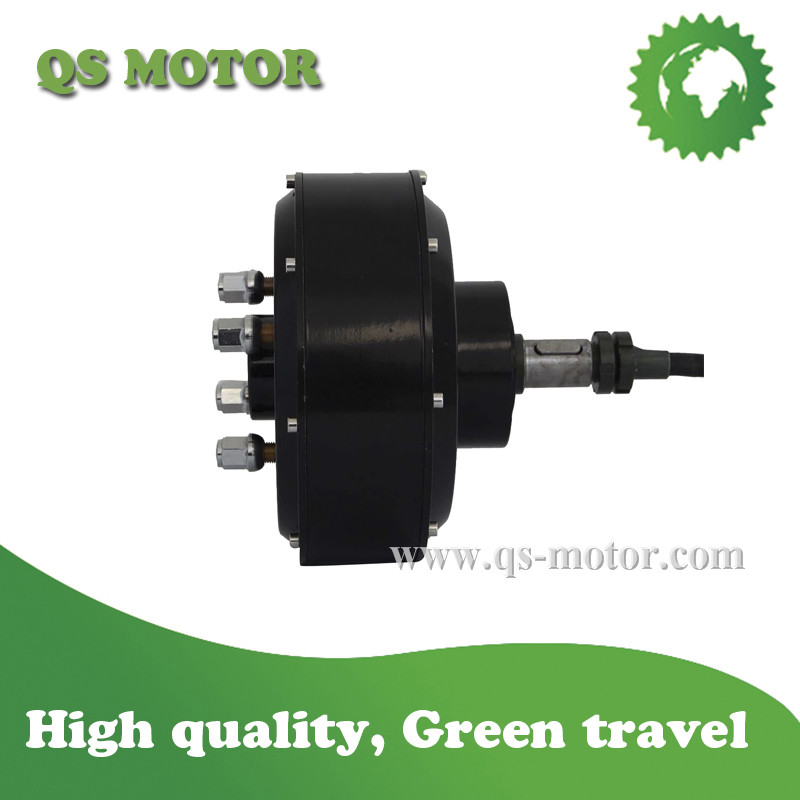 Qs 2000w electric car single shaft hub motor v2 type in for Electric motor shaft types