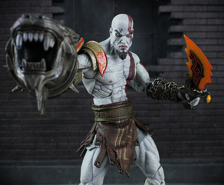 18cm NECA Kratos 3god of war action figure colllectible model toys for boys