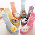 Infantil de Dibujos Animados Bebé recién nacido Espesar Calcetines Con Suela antideslizante Medias Para Los Recién Nacidos de Invierno Cálido Socking CL1022