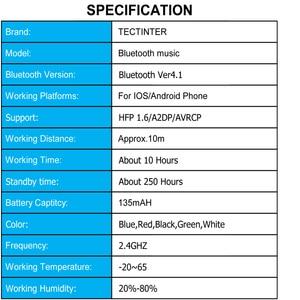 Image 5 - Bluetooth AUX 3.5mm שקע Bluetooth מקלט דיבורית שיחת Bluetooth מתאם לרכב משדר אוטומטי מוסיקה מקלט