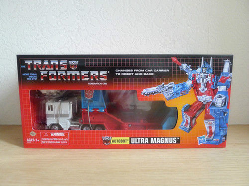 ФОТО TF G1 Reissue Ultra Magnus Mint in Box