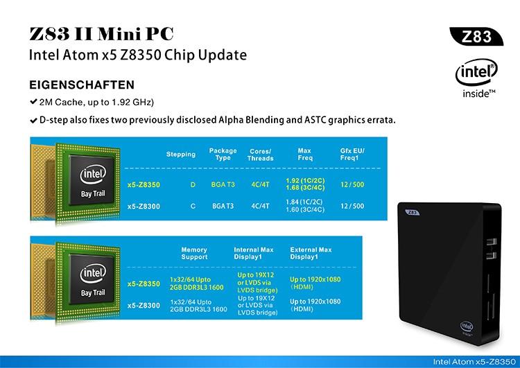 Z83II MiniPC-Intel-x5-Z8350-3