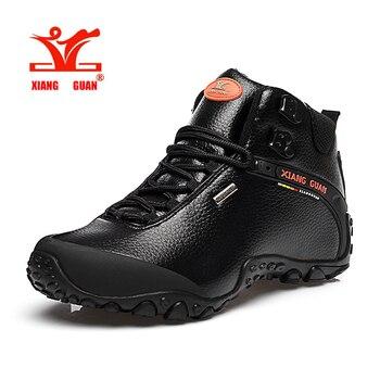 Xiangguan Мужская пляжная обувь походная обувь уличные кроссовки альпинистские высокие кожаные горные спортивные трекинг Туризм Сапоги водоне... >> LANTE Z Store