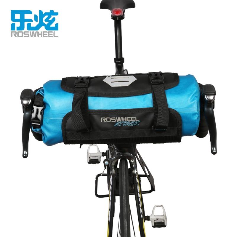 Roswheel Attack Bicycle Front Tube Bag Bike Handlebar Bag Pack
