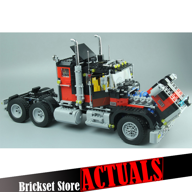Lepin 21015 1743Pcs Creative Series The American Black Cat Truck Set 5571 Technic Building Blocks Bricks Children Toys boys Gift building blocks single sale stephen curry american professional basketball player labron james bricks children gift toys kf406