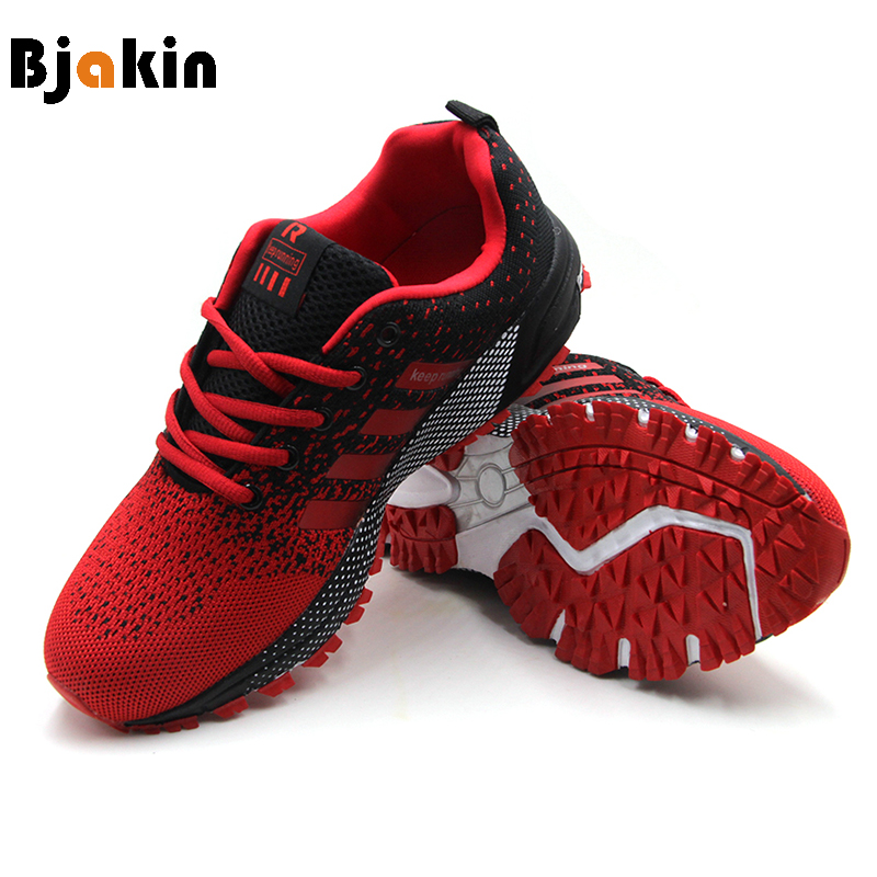 08c249bcc844e5 Bjakin Men s Comfortable Running Shoes Outdoor Light Mens Sneakers Air Mesh  Cheap Sport Shoes Athletic Footwear Plus 47 Size