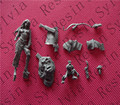 (General quality version) Unpainted Kit 1/32 54mm shaunye Fantasy Characters 54mm Historical WWII Figure Resin Kit