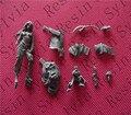 (Versão geral qualidade) Sem Pintura Kit 1/32 54mm shaunye Personagens de Fantasia 54mm Histórica DA SEGUNDA GUERRA MUNDIAL Figura de Resina Kit