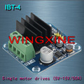 Free shipping,4pcs/lot Brand ,IBT-4 50A H-bridge High-power Motor Driver module/smart car