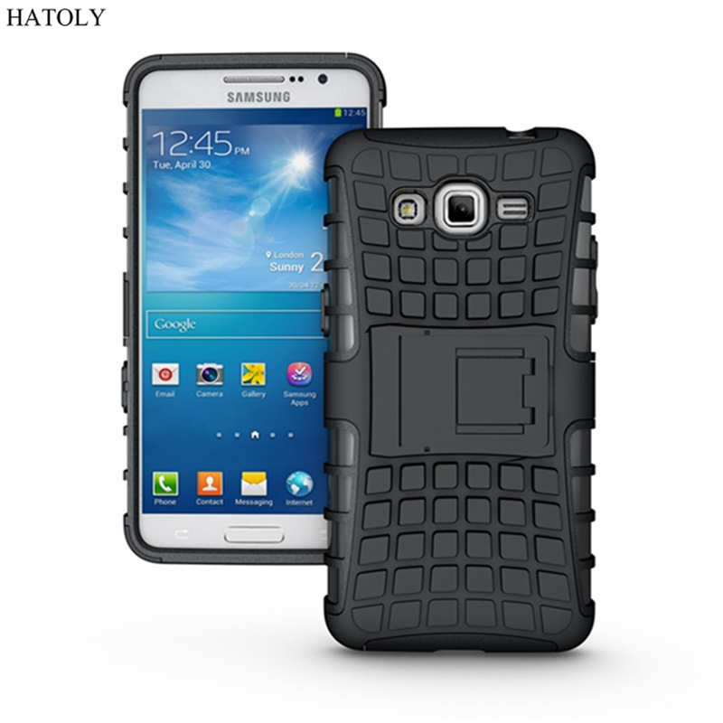 For Samsung Galaxy Grand Prime Case G530 G531H G530H G5308W Heavy Duty Armor Shockproof Hard Silicone Rubber Phone Case Cover