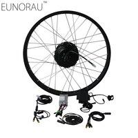 Electric Bike Kit 36V 500W Shengyi DGW25 cassette Fat Tire Electric Bicycle Wheel Rear Ebike Conversion Kits 20'',26''