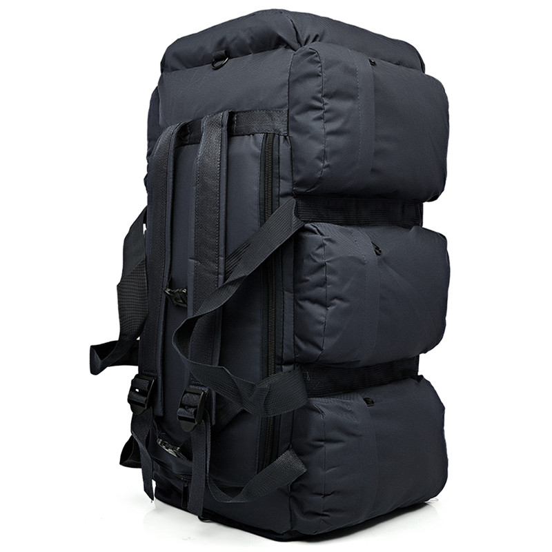 Hot 90L Large Capacity Men s Military Tactics Backpack Waterproof Oxford Hike Backpacks Rucksack Wear resisting