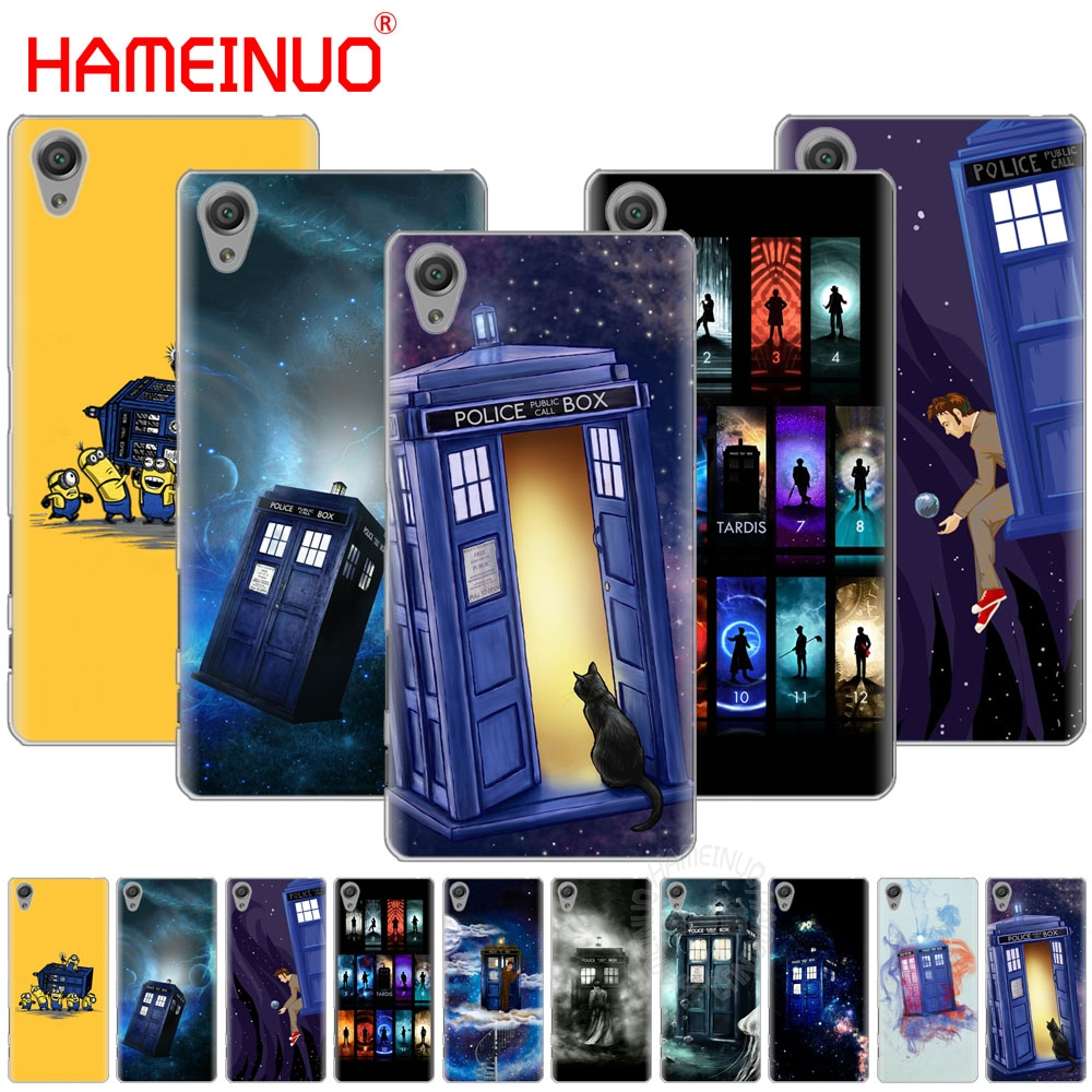 Impartial Hameinuo Tardis Box Doctor Who Cover Phone Case For Sony Xperia Z2 Z3 Z4 Z5 Mini Plus Aqua M4 M5 E4 E5 E6 C4 C5 Pure White And Translucent Cellphones & Telecommunications