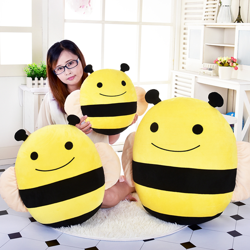 candice guo! Super cute plush toy lovely smiling fat bee stuffed cushion sofa pillow girls kids birthday Christmas gift 1pc candice guo plush toy stuffed doll funny the good dinosaur arlo in egg mini cute model children birthday gift christmas present page 7