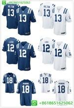 Men Indianapolis  13 TY Hilton  12 Andrew Luck  18 Peyton Manning football  jerseys c0f669365