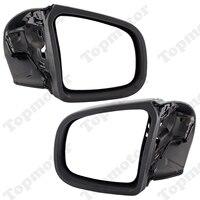 Черный глянец мотоциклетные зеркало заднего вида Левый/правая боковые зеркала заднего вида для BMW K1200LT K1200 LT K1200M 1999 2008 Retroviseur