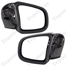 Motorcycle Parts Gloss Black Rearview Side Mirrors For BMW K1200 LT K1200M 1999 2000 2001 2002 2003-2008 UNDEFINED