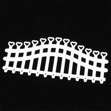 Heart Fence Metal Cutting Dies for Card Making