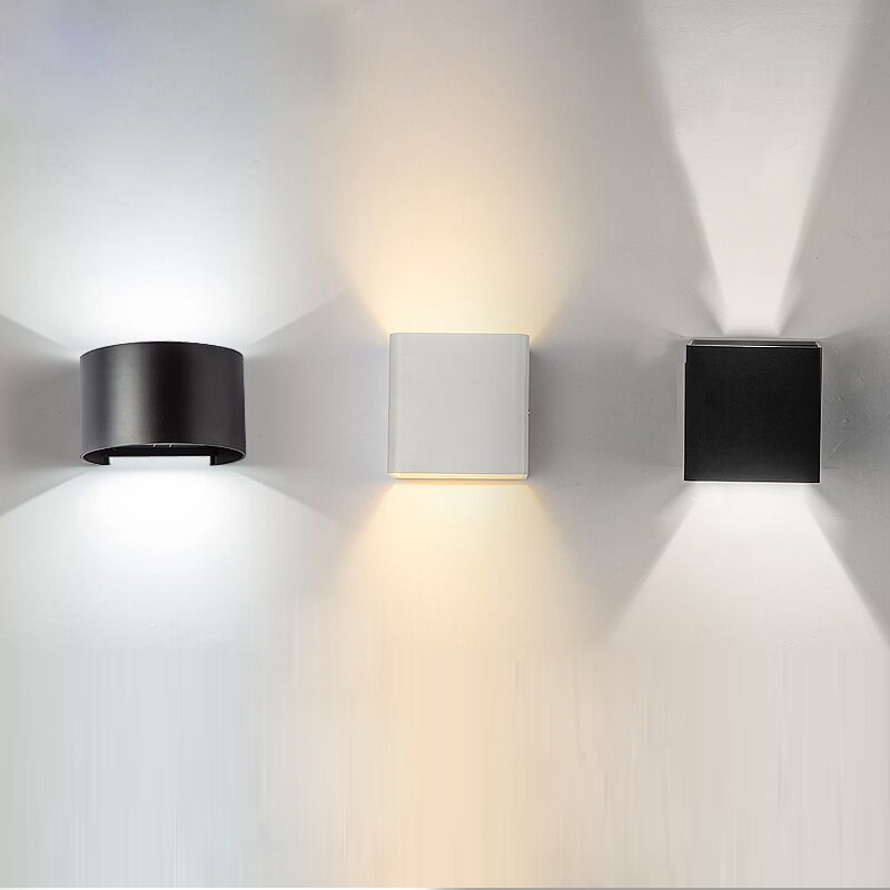 Up And Down Led Indoor Wall Lights : Modern LED Wall Lamps Waterproof Outdoor Wall Lights 6W led Up And Down Lighting Indoor/Outdoor ...