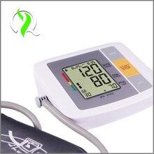 Tecnología inteligente LCD Totalmente Automático Brazo Monitor de Presión Arterial Digital Esfigmomanómetro Digital Portátil