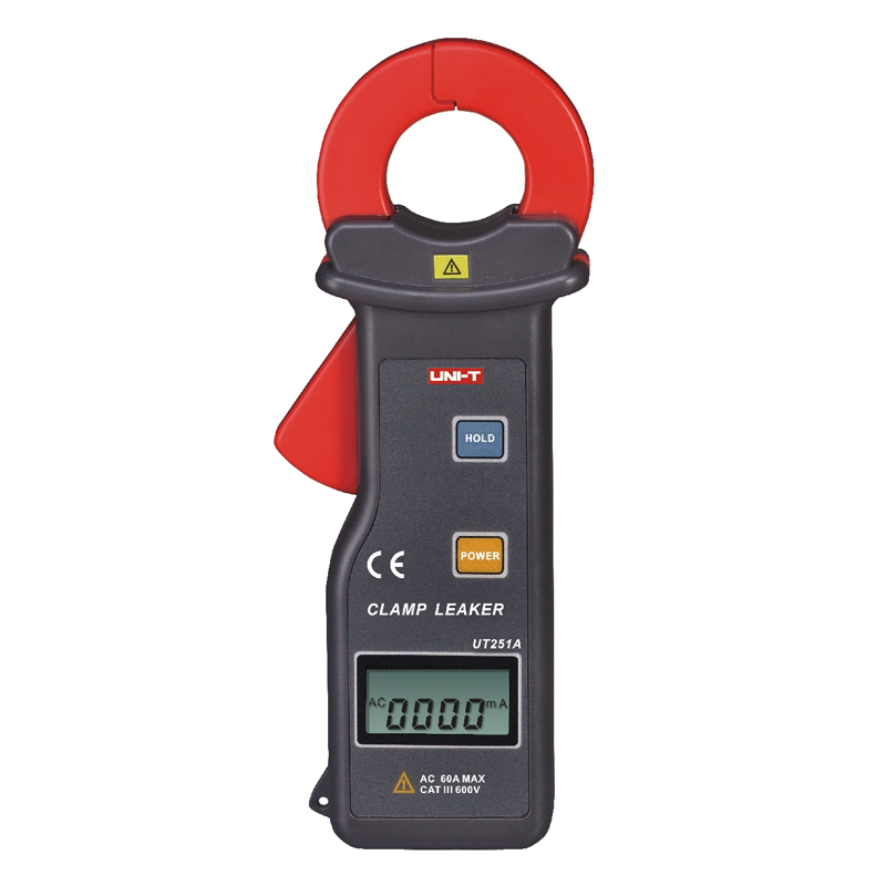 UNI-T UT251A RS-232 High Sensitivity Leakage Current Clamp Meters w/99 Data Logging Ammeter Multitester etcr030 high accuracy clamp leakage current sensor