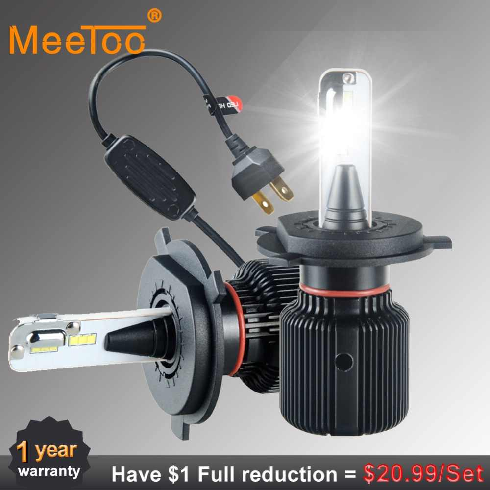 H4 H7 Led Canbus Headlight H1 H11 80W 8000LM Luces Led Para Auto HB3 HB4 9012 H13 6500k LED Lamps For Cars CSP Chip Led Ice Lamp