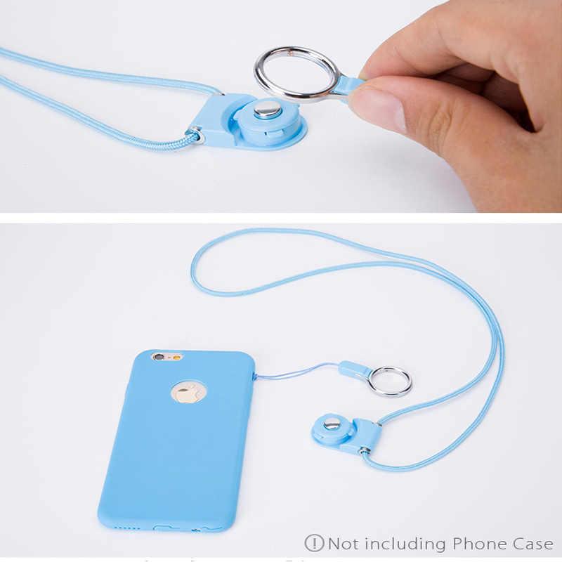 2 in1 Multi-function Мобильный телефон ремни веревка для samsung Galaxy S6 Edge Plus iphone XS нашейные Ремешки ремень телефон украшения