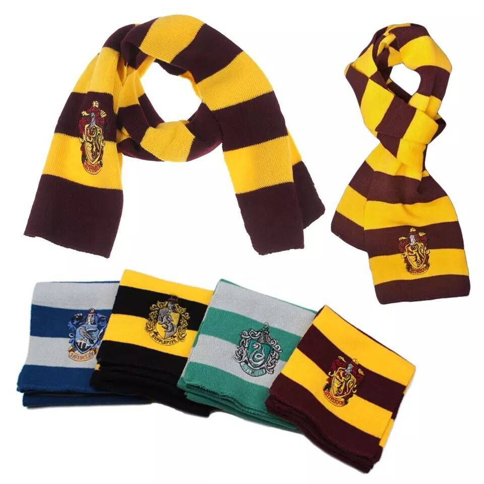 cosplay Hogwarts Dumbledore College glove scarf Gryffindor Glove Winter Warm Gloves Cartoon Halloween Gift Magic Toys Gift