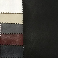 45cm 140cm PU Leather Knitted Base Fabric Faux Leather Fabric For Sewing Artificial Leather For DIY