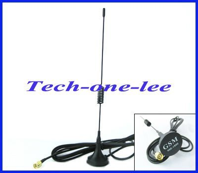 10pcs/lot GSM 5dbi Antenna SMA male with Magnetic base for Ham radio free shipping