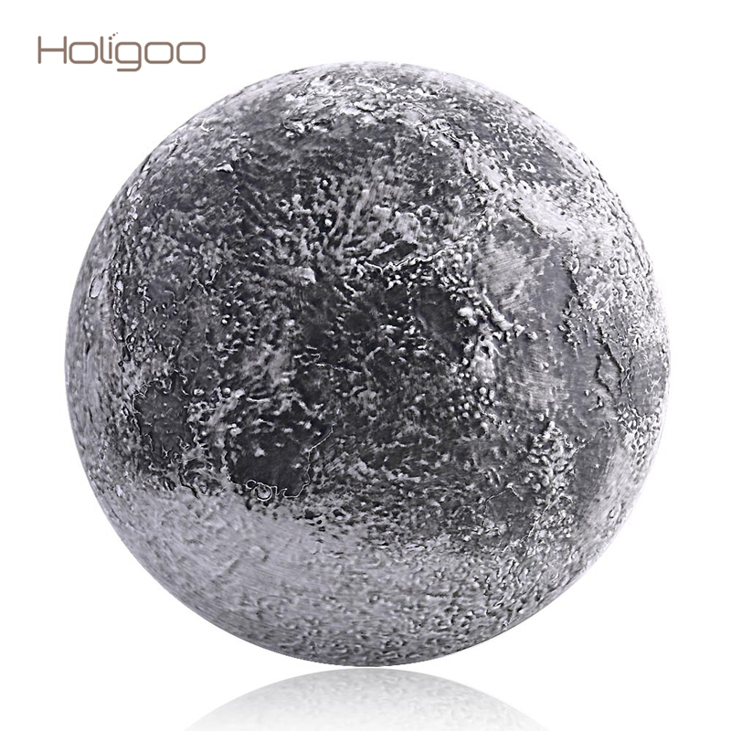 Holigoo Wall Moon Night Light Indoor Lighting LED Lamp With Remote Control Light Sensor Moon LED Night Light Decoration Bedroom 3d moon light touch sensor remote control bedroom novelty night light moon lamp luminaria led for baby kids christmas