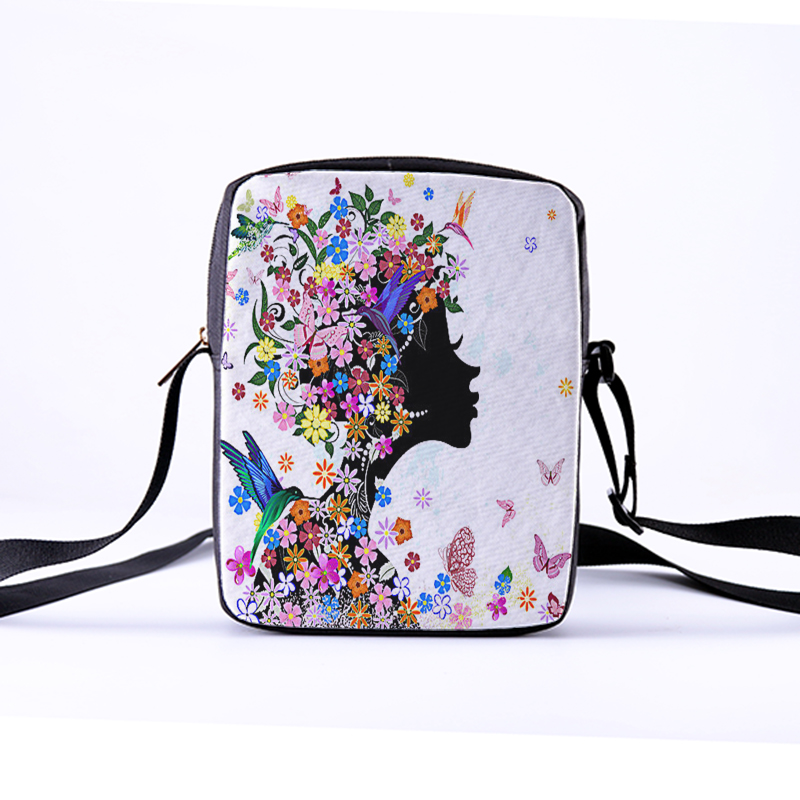 CROWDALE Women Crossbody Bags Butterfly Printing for Kids Girls Casual Mini Female Children Messenger Bags Bolsos Mujer