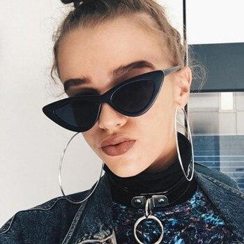 Cat-eye fashion sunglasses