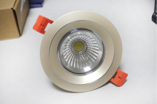 Free shiping  12pcs/lot Wholesale 10W  Downlight led COB  AC85~265V CE RoHS warranty 3 years cob light