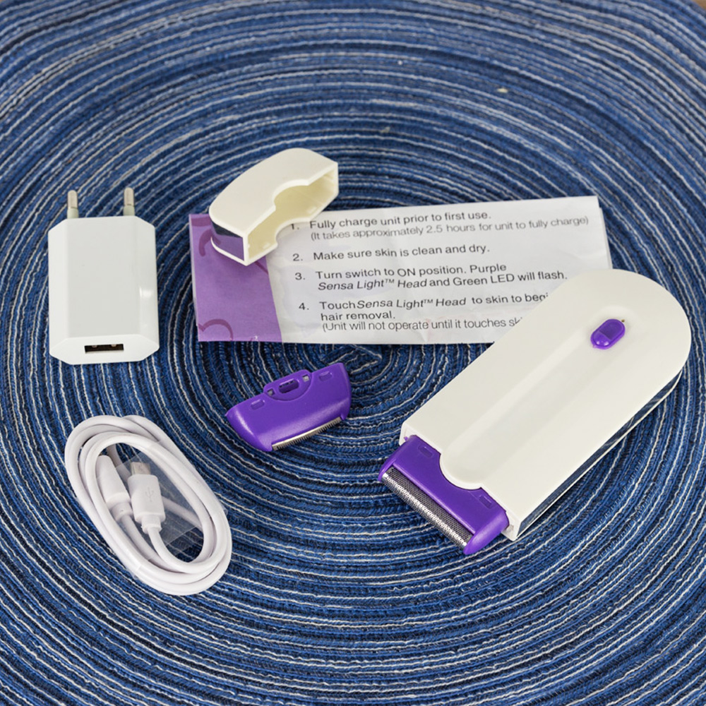 Laser Epilator Elektrische Epilator voor Vrouwen Multifunctionele Draadloze Body Facial Hair Scheermes Elektrische Tondeuse