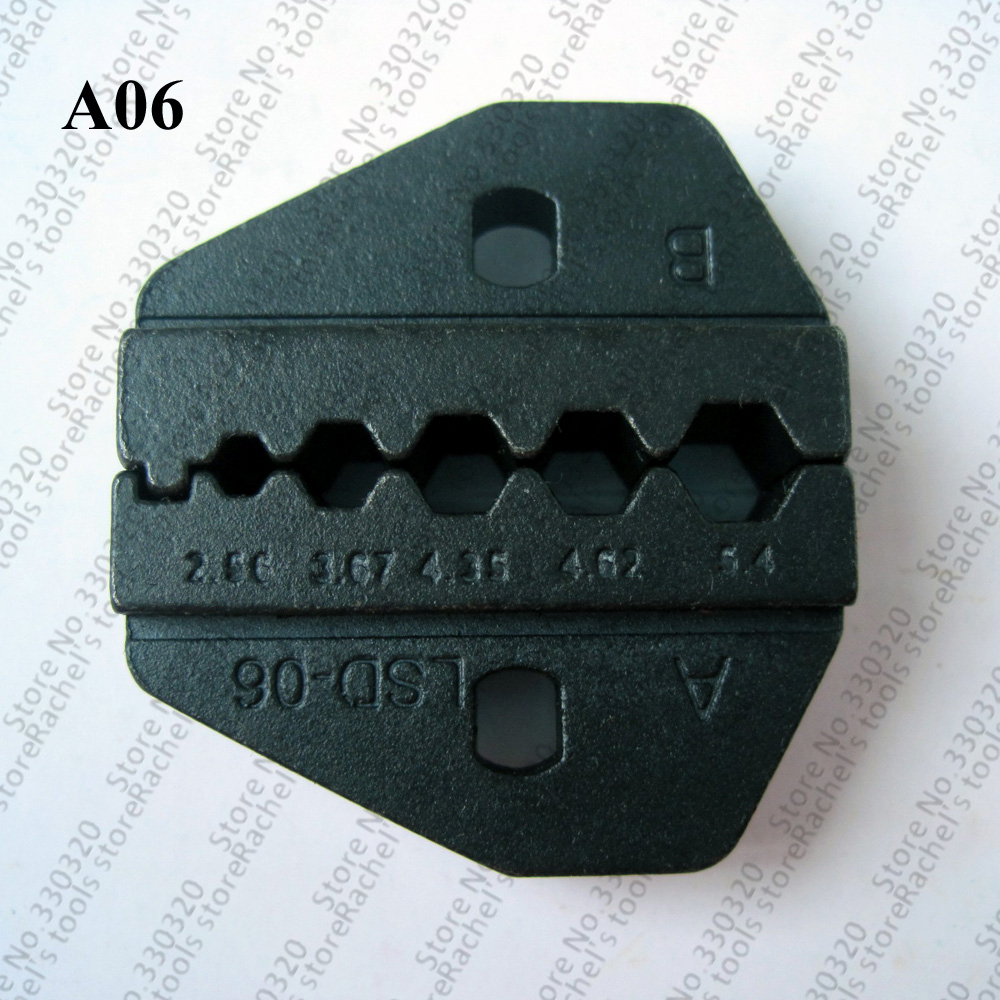 A06 Crimp Tool Die For Crimping Rg Coaxial Cable And Terminal To Be Distributed All Over The World