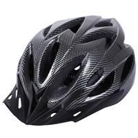 Casco de bicicleta de carbono bicicleta MTB ciclismo adulto ajustable casco de seguridad Unisex
