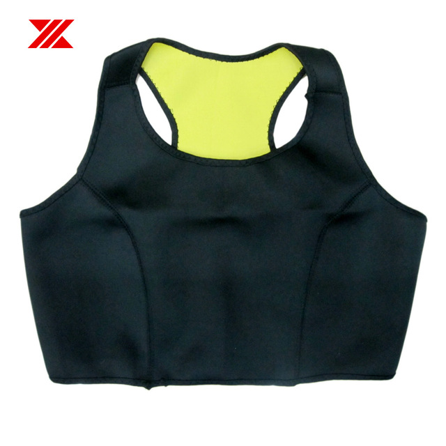 HEXIN Women Sauna Vest and Waist Sweat Neoprene Body Shaper Fitness Slimming Workout Fat Burn Waist Trainer (Bra + Belt) 2