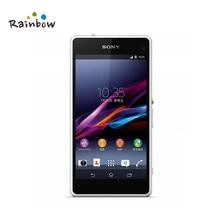 Sony xperia z1 compacto d5503 original desbloqueado gsm smartphone android quad-core 2 gb ram 16 gb armazenamento 4.3