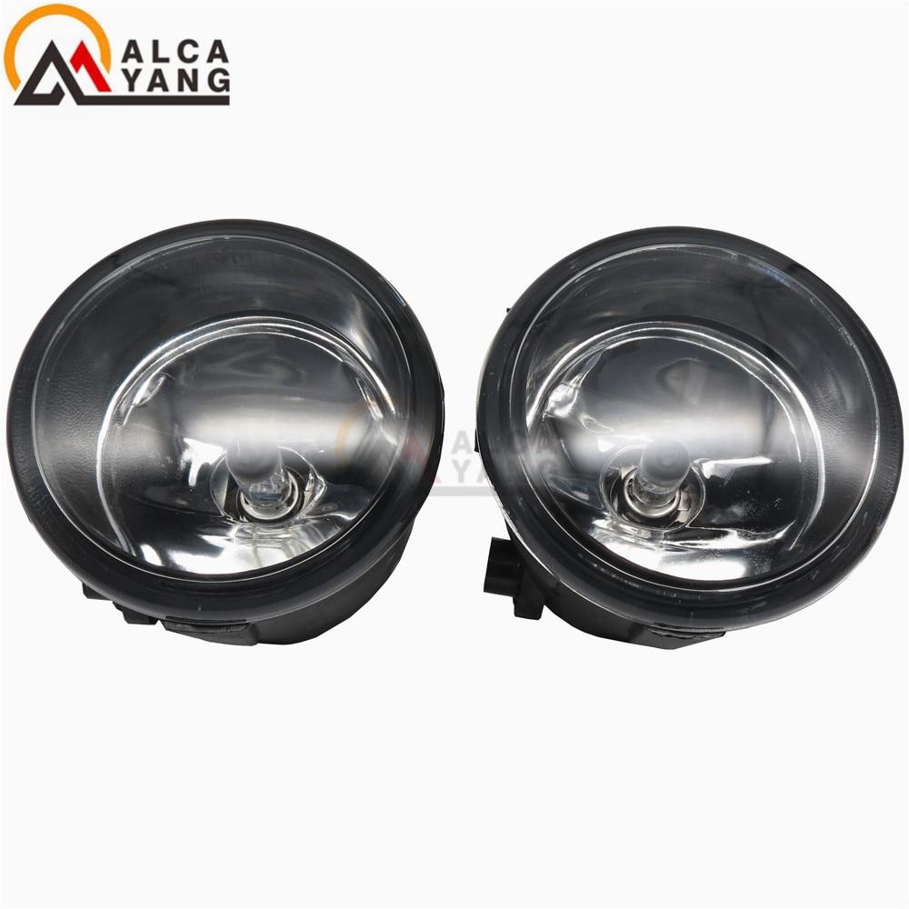 1set Car styling eagle eye Fog lights halogen lamps For NISSAN MURANO (Z51) 2007+2015 TIIDA Saloon (SC11X) 2006+2015 26150 89905 for nissan almera 2 ii hatchback n16 2001 2006 car styling fog lamps 55w halogen lights 1set