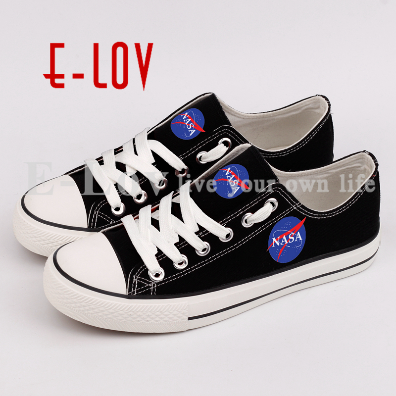 E-LOV Custom Rock Music Printed Canvas Shoes Hip Hop Casual Women Walking Shoes Graffiti Stars Couple Canvas Shoe printed assassins creed canvas shoes fashion design hip hop streetwear unisex casual shoes graffiti women flat shoe sapatos