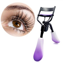 1PC Silicone Curling Eyelash Tools NEW Gradient Color Eye Lash Curler Big Eyes Makeup Kit Easy to Use